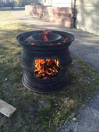 tire rim grill fireplace i would like to invite you to check out my new