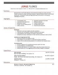 Objective Hvac Resume Objective