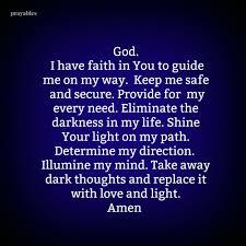 Prayers About Light And Darkness Prayer Love Light Prayables