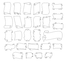 Collection Of Scroll Designs