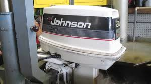 johnson 20 hp outboard motor