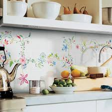 decorative kitchen wall tiles. Hand Painted Wall Tiles In Your Bathroom And Kitchen Are Simple Modern Interior Decorating Ideas Decorative