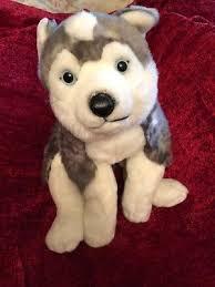 alley plush husky wolf plush 24 toys r us
