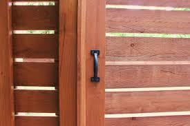 horizontal wood fence gate. New Horizontal Modern Gate Handle Wood Fence