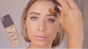 new romantic makeup tutorial wearable smokey eye bronze makeup glowing