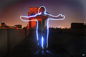 light painting photography by abhikreationz