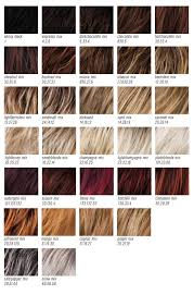 Wig Color Chart Codes Color Chart Ellen Wille Perucci Love My Hair Wig Boutique