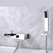 modern design wall mounted waterfall bathtub faucets