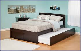 queen platform bed with trundle.  With Queen Full Trundle Bed For Platform With N