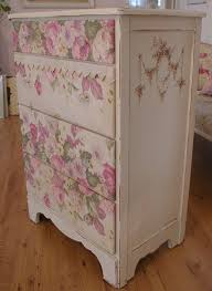 diy decoupage furniture. diy decoupage und serviettentechnik mod podge and pink roses paper napkins technique painted french bedroom dresser furniture mehr diy