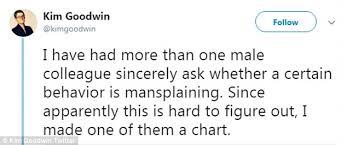 Mansplaining Chart Woman Explains Patronizing Mansplaining In Clever Chart