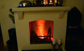 fake fire for fireplace logs gas