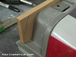 custom door panels wood arm rest cut wood for door panels