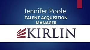 jennifer poole talent acquisition manager talent acquisition manager job description