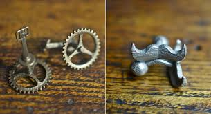 Gothamsmith Mustache And Bicycle Cufflinks Cool Material