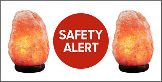 himalayan rock salt lamps recalled due to fire risk dangers of himalayan rock salt lamp
