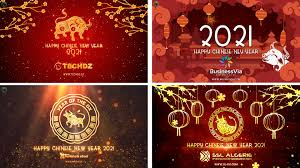Lunar new year 2021 holiday notice to customer. Make Chinese New Year 2021 Greetings Video By Graficonet