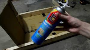 making a archery target with great stuff foam insulation you