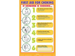 Free Choking Posters Online First Aid Choking Safety