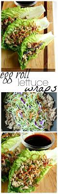 Egg roll filling tucked in lettuce wraps makes for healthy dish that's full  of flavor. | Healthy dishes, Lettuce wrap recipes, Healthy recipes