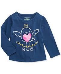 First Impressions Baby <b>Girls</b>' <b>Bird</b> Hug Tee - Kids - Macy's