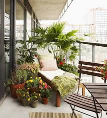 Home Design and Decor , Balcony Decoration With Potted Plants : Outdoor Balcony  Decoration With Potted