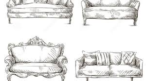 fancy couch drawing. Download:Smartphone Medium Size Full Size. Back To Sofa Sets For Drawing Fancy Couch E