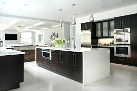 dark cabinets white countertops 9 inspirational kitchens that combine dark wood cabinetry and white the white