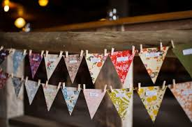 Small Picture wedding ideas reception decor bunting banners 2