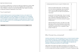 Consulting Proposal Templates And Letters With 5 Best Examples