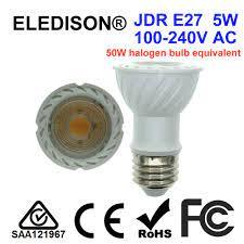 Mutfak fırını davlumbaz Ampul Dekor Zephyr Davlumbaz LED JDR E27 5W 85 265V  yerine 50W Halojen ampul e27 5w led replacementled hood - AliExpress