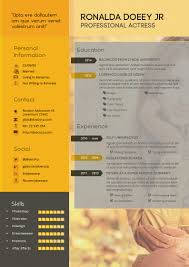 Template The Best Cv Resume Templates 50 Examples Design Shack Adobe