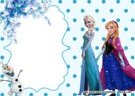 I've seen lots of frozen birthday party invitations online, but i wanted ours to be different. Free Printable Frozen Anna And Elsa Invitation Templates Download Hundreds Free Printable Birthday Invitation Templates