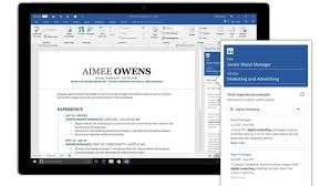 Add Resume To Linkedin Microsoft Integrates LinkedIn With Word To Help You Write A Resume 91