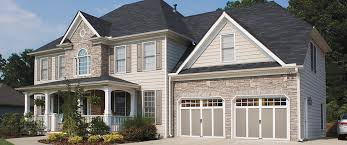 faux wood carriage house style garage doors slide 4