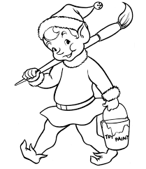 Small Picture Christmas Elf Coloring Pages Christmas Coloring pages of