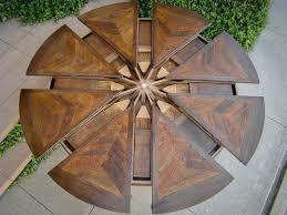 western heritage furniture expanding round table pertaining to expanding round table gif