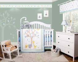 harriet bee beazer safari jungle animals 6 piece baby nursery crib bedding set
