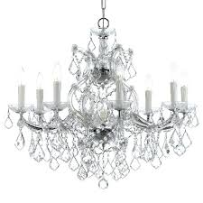 maria 9 light clear crystal chrome chandelier theresa 19 silver maria chandelier chandeliers crystal theresa parts