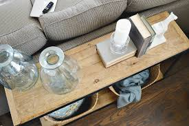 Diy sofa table Pallet Easy Diy Sofa Table With Wood Hot Home Decor Easy Diy Sofa Table With Wood Hot Home Decor Decorating Ideas