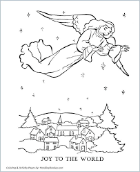 Free Christian Coloring Pages Good Religious Christmas Biblical