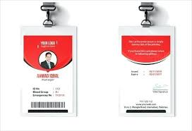 Student Id Card Template Free Psd Templates For Ms Word