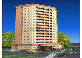 Диплом по строительству на тему этажный жилой дом со встроено  1 Перспектива