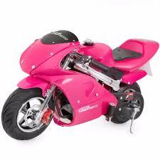 4 stroke 40cc 1 2l gas pocket bike mini motorcycle epa pink no