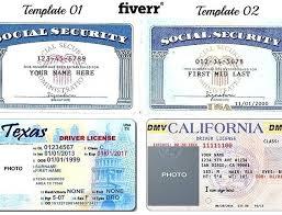 Blank Id Card Template Amazing Texas Id Card Template Fake Class Forward Declaration Spitznas