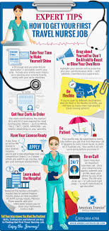 infographic how to get your first travel job american traveler infographic expert tips on how to get your first travel nurse job