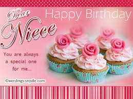 Happy Birthday Wishes For Niece Niece Birthday Messages Wordings
