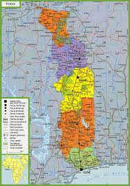 togo maps  maps of togo (togolese republic)
