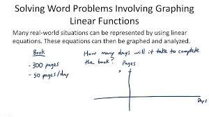 problem solving with linear graphs algebra ck 12 foundation