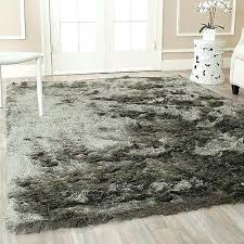 area rug plush indoor grey polyester carpet silver family room safavieh evoke ivory 8x10